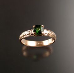 Trending mint green tourmaline engagment rings white gold Solid K White Gold Natural Green Tourmaline Engagement Diamonds Ring Wedding Pinterest