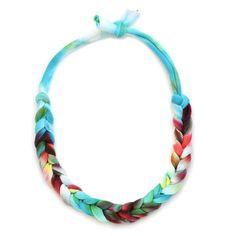 Jersey Necklace Tie-Dye on Fab. DIY Inspiration.