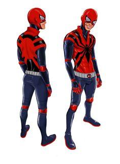 Rudy Jordan Spiderman 2.0 Redesigns