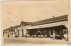 Breda - Spoorwegstation - 1945.