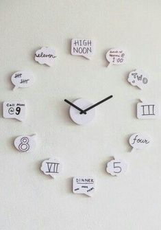 diy crafts for teen girls bedroom. DIY Cute clock for teen girl room diy crafts for teen girls bedroom. DIY Cute clock for teen girl room Cute Clock, Diy Clock, Clock Ideas, Diy Wall Clocks, My New Room, My Room, Diy Crafts For Teens, Craft Ideas For Teen Girls, Diy Crafts For Home