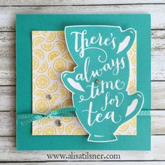 Stampin Up A Nice Cuppa