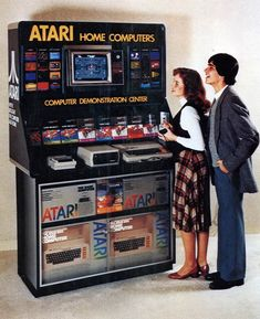 Retro Geek du jour – Atari Home Computers Demonstration Center