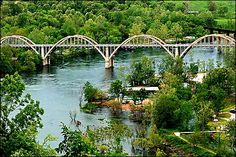 I love fishing on the White River!  Cotter, Arkansas