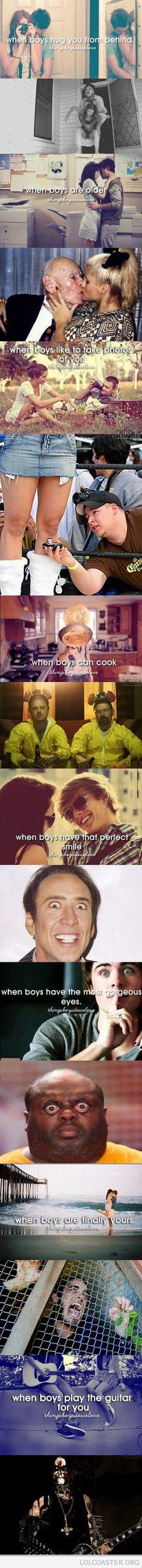 When Boys <3 Hahahahahahahahahahaha!!!!!!!!!!
