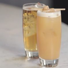 If you treat Scotch like a religion, try this simple and classic cocktail. Be sure to use a spicy ginger ale so you get the most out of the three-part combo. Not a fan of Scotch? The Presbyterian is also delicious with a measure of bourbon.