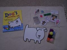 Dogs colorful day; great book for therapy! I made a smartboard color activity to go with it that the kids love!