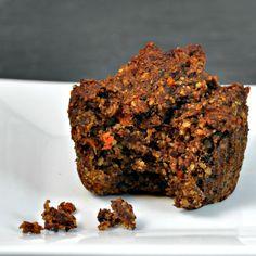 Flourless Hazelnut Carrot and Date Muffins - Pinch and Swirl
