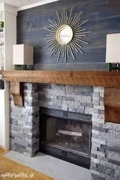 92843dd2a6f 20+ Simple Fireplace Makeover For Winter Ideas