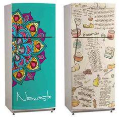 vinilos decorativos cocina heladera - ploteos personalizados