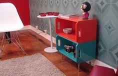 kids nightstands, playroom?