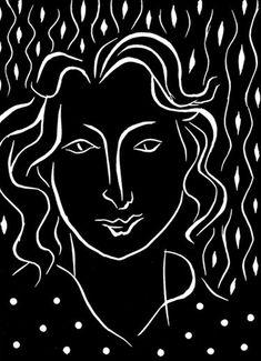 Matisse , gravure