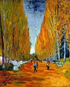 """Autumn In Paris"": Vincent Van Gogh"