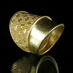 Woven Ring #114  Mary Lee Hu
