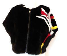 LUXUS 100% Echt Pelz Fur Nerz Mink WESTE Mäntel Coat Jacke Vison Size M in Kleidung & Accessoires, Damenmode, Jacken & Mäntel   eBay
