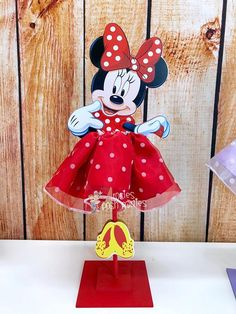 Items similar to Minnie Mouse Tutu Birthday Decoration Tutu pink OR red version wood table centerpiece favor for Birthday or Baby Shower ONE PIECE Decoration on Etsy Minnie Mouse Table, Minnie Mouse Birthday Decorations, Red Minnie Mouse, Mini Mouse, Disney Frozen Birthday, Minnie Birthday, Birthday Tutu, 3rd Birthday, Birthday Parties