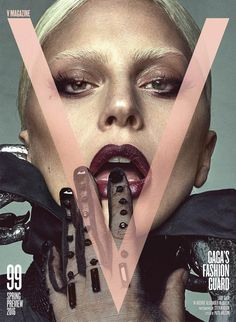 v magazine lady gaga cover 8