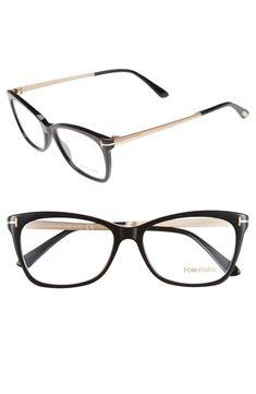 Glasses Frames Tom Ford Eyeglasses Ideas For 2019 Tom Ford Eyewear, Tom Ford Sunglasses, Ray Ban Sunglasses, Sunglasses Women, Tom Ford Glasses Women, Womens Glasses, Fashion Eye Glasses, Cat Eye Glasses, Cute Glasses