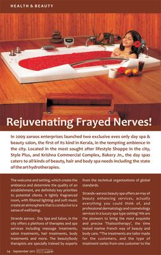Click here to read the article http://www.ezinemart.com/article/22364-articles-Rejuvenating-frayed-nerves!.html#