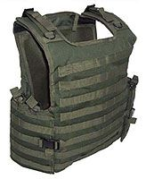 """SOLO Ultimate Tactical Gear Combat Armour Carrier for Private Security Details in Green is one of the best Armour Carriers on the market at a low promotional price, can hold level IIIa armour, 2 x front & Back 10""""x12"""" and 6""""x8"""" side Ballistic Plates if required. Fully versatile system with 360deg Molle all round, no zips to snag & quick buckle release."""