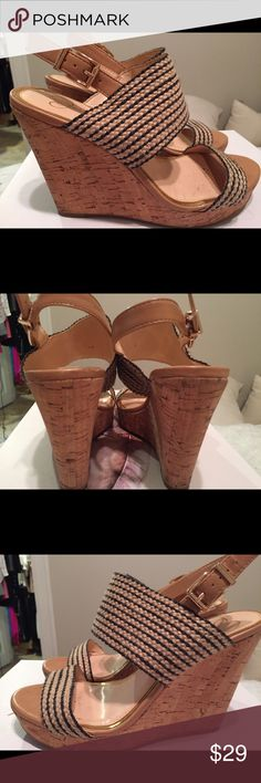 🔥🔥🔥 Price Drop, Today Only!  MAILING TODAY!!! 🔥🔥🔥 Price Drop, Today Only!  MAILING TODAY AT 4:00 CENTRAL!!! Love these natural woven wedges! Worn once!  I have too many shoes so something had to go! Jessica Simpson Shoes