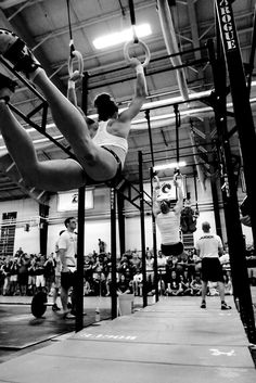 Muscle ups...they suck balls.  I agree with this comment, very difficult move