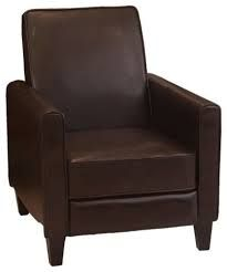 Chair bradyn 36 quot w x 41 quot d x 41 quot h leather recliner chair recliner