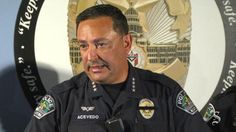Austin Police Chief Art Acevedo at a news conference on Friday, July 7, 2016, that he disagrees with Texas Lt. Gov. Dan Patrick, who says he blames Black Lives Matter protesters for a shooting in Dallas that killed five officers.