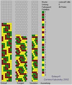 Schlauchketten häkeln - Musterbibliothek: corinna01
