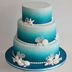 Wedding Cakes Sea theme