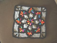 Ravelry: My Stain Glass Window Afghan pattern