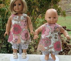 American Girl Doll Clothes Cross Over Top and by SewSoNancy, $15.00
