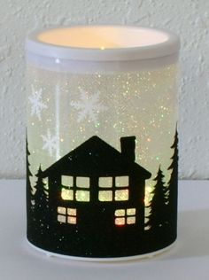 Color Changing Flameless Holiday Candle Decor by DanielsVintage