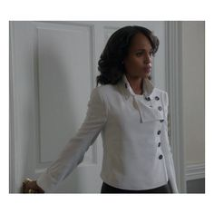 Costume Stories Scandal's Olivia Pope Coat Closet ❤ liked on Polyvore featuring costumes