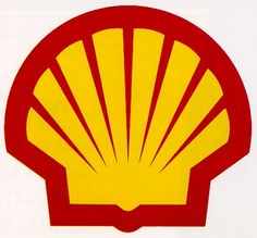 Shell Transport and Trading Company Ltd Logo. It used this since 1971, as sketched by American industrial designer Raymond Loewy.