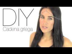 Accesorio para el pelo: cadena estilo griego paso a paso