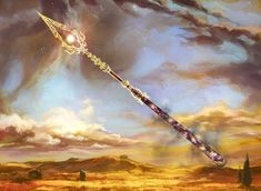 Planeswalker's Guide to Theros, Part 1 : Daily MTG : Magic: The Gathering Anime Weapons, Sci Fi Weapons, Fantasy Weapons, Fantasy Rpg, Fantasy Artwork, Fantasy World, Spears Weapon, Dragon Age Rpg, Writing Fantasy