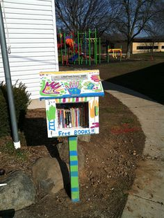 Little Free Library at Vera Court Neighborhood Center| Flickr - Photo Sharing!