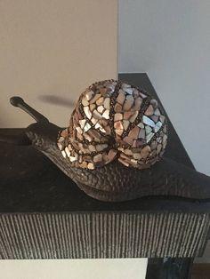 mozaiek slak outdoor bronzen slak bronzen mozaiek slak