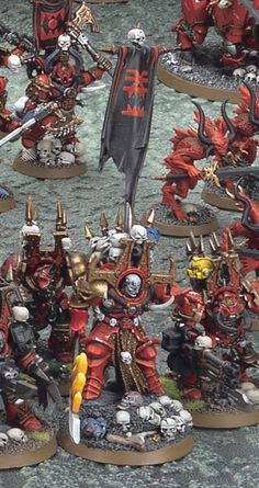 WADE'S WORKSHOP | Khorne World Eaters