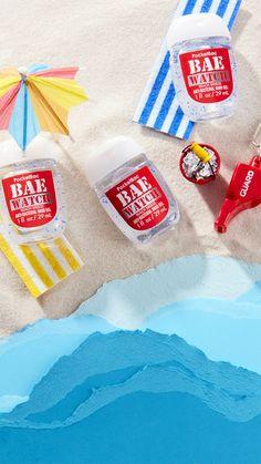 Bath and Body Works Bae Watch Pocketbac hand sanitizer Summer