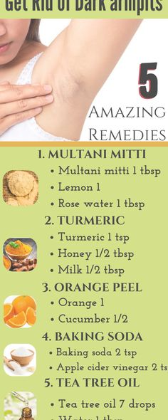 5 amazing remedies to get rid of dark underarms remedies beautytips skin skincare diy BeautySecrets - cakerecipespins. Beauty Tips For Glowing Skin, Clear Skin Tips, Health And Beauty Tips, Beauty Skin, Health Tips, Dark Underarms Remedy, Dark Armpits, Homemade Skin Care, Diy Skin Care