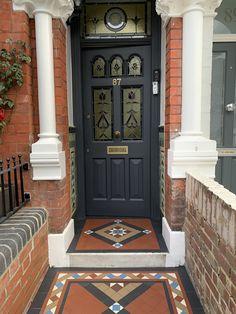 Tile Design, Garden Paths, Pathways, Mosaic Tiles, Contemporary, Modern, Tile Floor, Restoration, New Homes