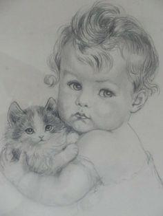 Custom Family portrait drawing from photo / Personalized Family Portrait / Custom Portrait / Original Drawing / Pencil Art Drawings, Realistic Drawings, Art Drawings Sketches, Cute Drawings, Family Portrait Drawing, Portrait Sketches, Baby Drawing, Color Pencil Art, Beautiful Drawings