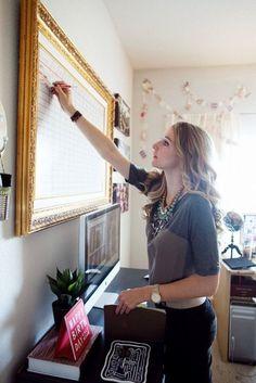 "Decorative White Boards amazon : frosted glass dry-erase board - 35 1/2"" x 47 1/4"