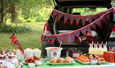 {Real Parties I've Styled} Football Kickoff Tailgate Party!