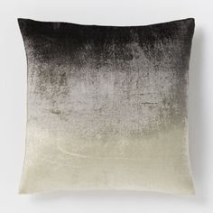 Ombre Velvet Cushion Cover - Slate