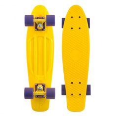 "Penny cruiser complet 22"" yellow purple skateboard en plastique 110€ #cruiser #cruisers #cruiserskate #cruiserskateboard #longboard #longboards #penny #pennyskate #pennyskateboard #pennyskateboards #vynil #plasticskate #plasticskateboard #skatevinyl #vinylskate #vinylskateboard #cruising #skatecruiser #skatecruisers #skate #skateboard #skateboarding #streetshop #skateshop @April Gerald Skateshop"