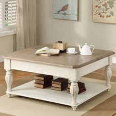 Have to have it. Riverside Coventry Two Tone Lift-Top Square Cocktail Table $582.54