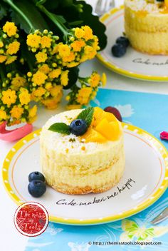 The Miss Tools: Mango Minicakes